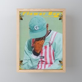 Tyler The Creator - Flower Boy Framed Mini Art Print