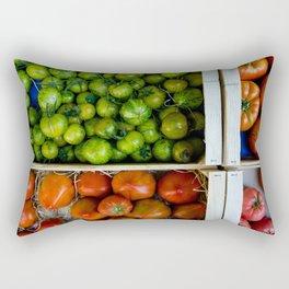 Colorful tomatoes Rectangular Pillow