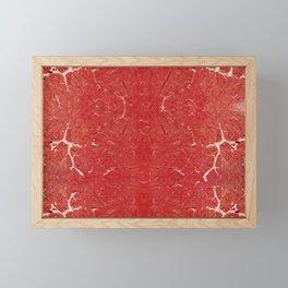 The flesh Framed Mini Art Print