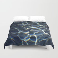 water web Duvet Cover