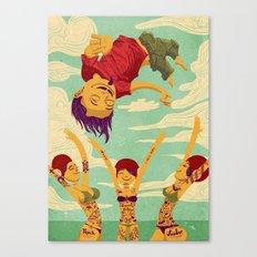 Tapete Voador Canvas Print