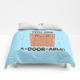 Wood You Be My Valentine? Comforters
