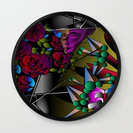 What's in your mind? Wall Clock