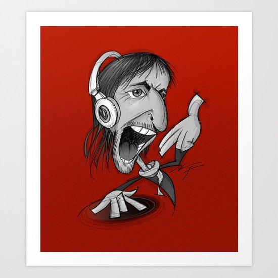 David Guetta Art Print