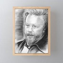 James Framed Mini Art Print