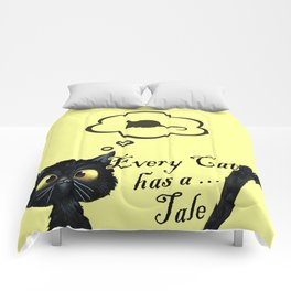 Every Cat has a Tale Comforters