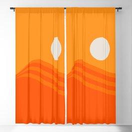 Swell - Orange Crush Blackout Curtain