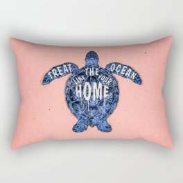 ocean omega (variant 3) Rectangular Pillow