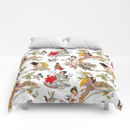 China Cabinet Toss Comforters
