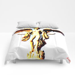Victoria Alada  ( Winged Victory) Comforters