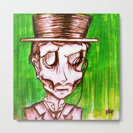 Monocle, Ghoul #2. Metal Print