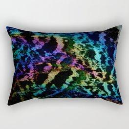 Technocolor  Rectangular Pillow