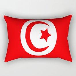 Flag of Tunisia Rectangular Pillow
