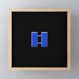 Captain (Police) Framed Mini Art Print