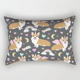 Corgi Unicorn blanket  cute dog corgi Rectangular Pillow