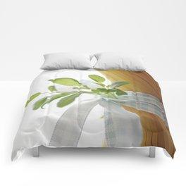 Fresh garden herbs cuffs on Pasta Comforters