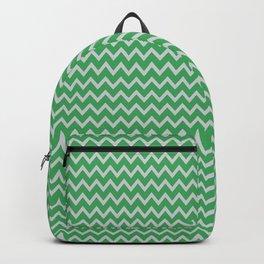 green grey chevron Backpack