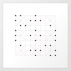 #193 Sudoku – Geometry Daily Art Print