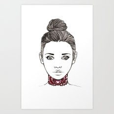Heart Tattoo Art Print