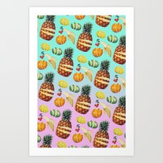 Fruit Ninja Art Print