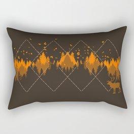 Tradicional Nature Pattern Rectangular Pillow