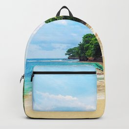 Tropical Beach - Landscape Nature Photography Backpack
