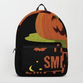 Funny Halloween Pumpkin Saying Backpack