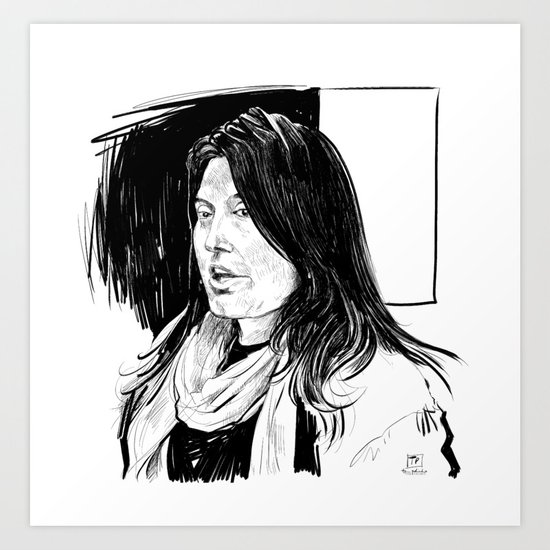 Sharmeen Obaid-Chinoy (filmmaker) Art Print