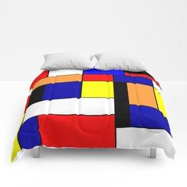 Mondrian #1 Comforters