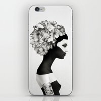 american beauty iPhone & iPod Skins featuring Marianna by Ruben Ireland