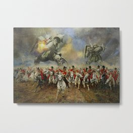 Waterloo Forever! Metal Print