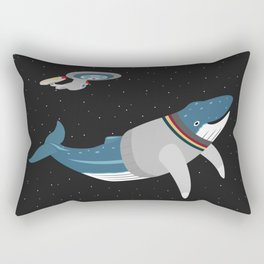 Whalesley Crusher Rectangular Pillow