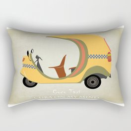 Coco Taxi - Cuba in my mind Rectangular Pillow
