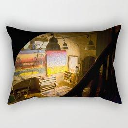 The Studio. Rectangular Pillow
