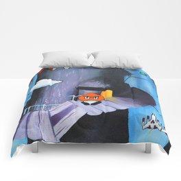 "'Sertraline' 12"" x 12"" Acrylic and Marker on Canvas 2013 Dan Gribben Comforters"