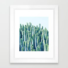 Cactus V2 #society6 #decor #fashion #tech #designerwear Framed Art Print