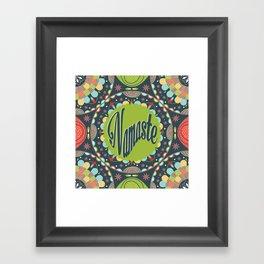 Mandala - Namaste Framed Art Print