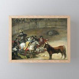Francisco de Goya Bullfight, Suerte de Varas Framed Mini Art Print