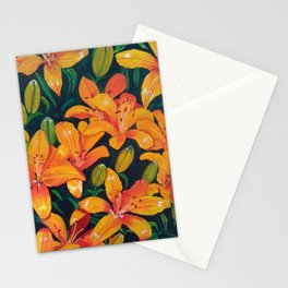 Daylilies in the Garden Stationery Cards