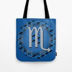 Flower of Life SCORPIO Astrology Design Tote Bag