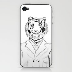 Fine Feline  iPhone & iPod Skin