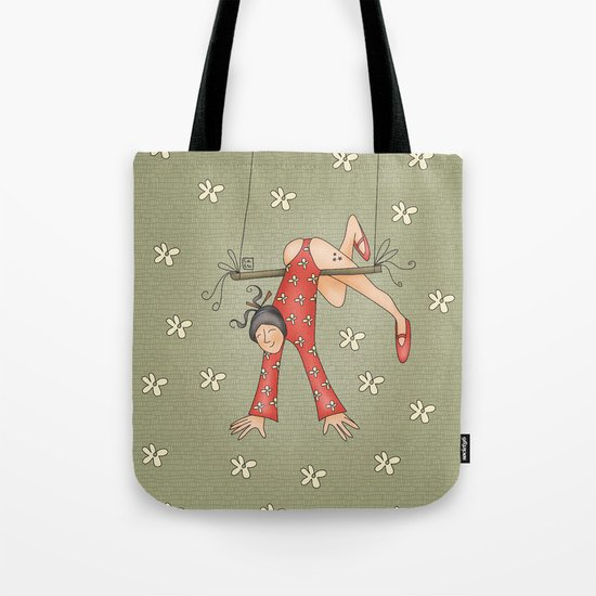 Trapezist Tote Bag