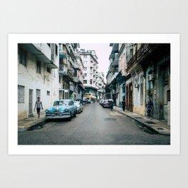 Centro Habana Art Print