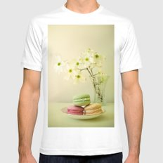 One Spring Day MEDIUM Mens Fitted Tee White