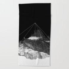 Crystal Mountain Beach Towel