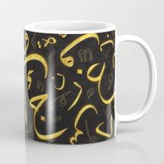 Golden Letters Mug