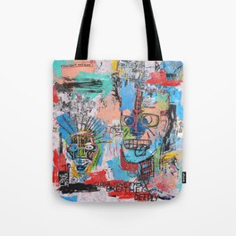Close your eyes and breathe deeply Tote Bag