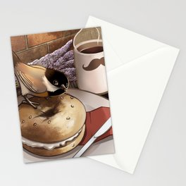The Bagel Thief Stationery Cards