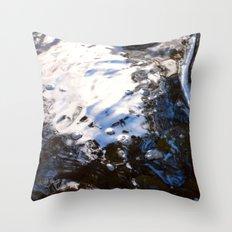 Textures - Water Throw Pillow