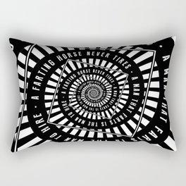 A Farting Horse Rectangular Pillow
